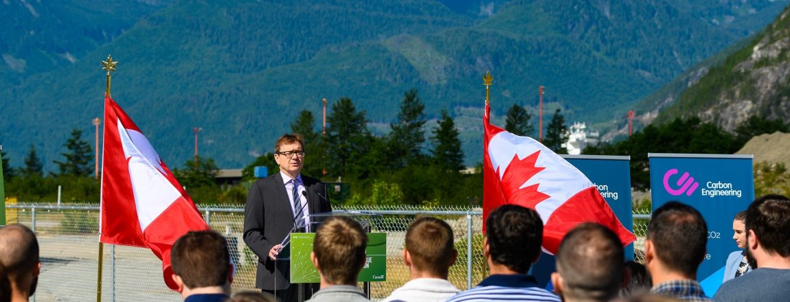 Government of Canada invests $25m in Carbon Engineering