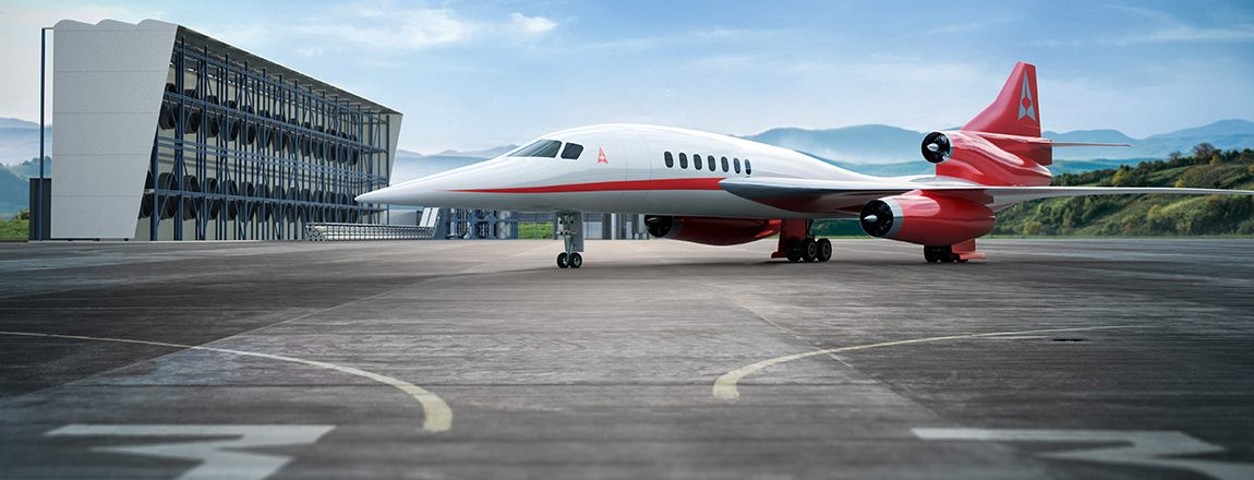 Aerion Supersonic and Carbon Engineering join forces to deliver carbon neutral supersonic travel